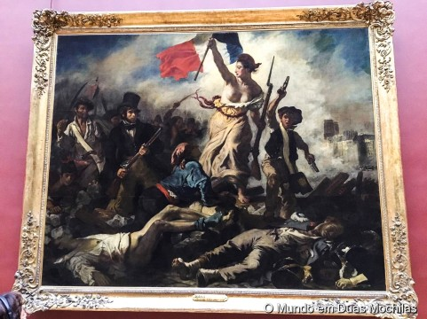 """Liberdade guiando o povo"""