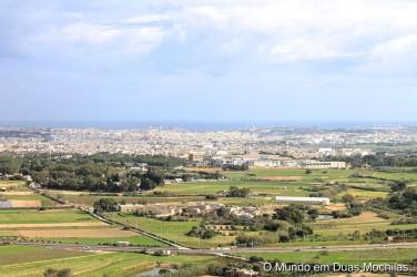 Vista para Valletta