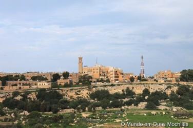 Vista do Bastião sobre Rabat
